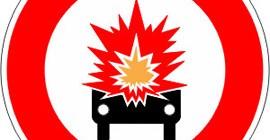 Accès-interdit-aux-véhicules-transportant-des-marchandises-explosives-ou-facilement-inflammables