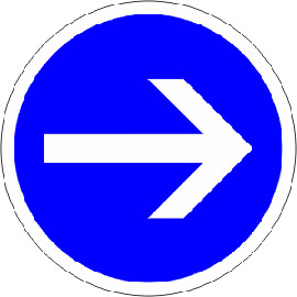 Obligation-de-tourner-à-droite