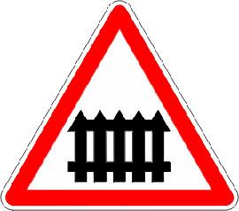 Passage-a-niveau-muni-de-barrieres